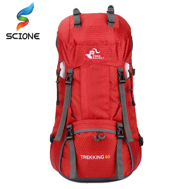 Hot Top Quality Camping Sports Backpack Men Women Climbing Travelling Outdoor Backpacks Large Capacity Bags with Rain Cover