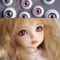 Звезда замок глаз для 1/3 1/4 1/6 bjd Куклы toys sd фиолетовый и голубой глаз 8 мм 16 мм 18 мм 20 мм Акриловые Глаза для куклы