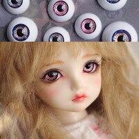 スターロック目用1/3 1/4 1/6 bjd人形toys sd紫と青眼球8ミリメートル16ミリメートル18ミリメートル20ミリメートルアクリル目用人形