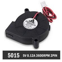 10 Pieces/lot 5cm 5015 50x50x15mm PC DC Cooler Cooling 50mm Blower Fan 5V цена