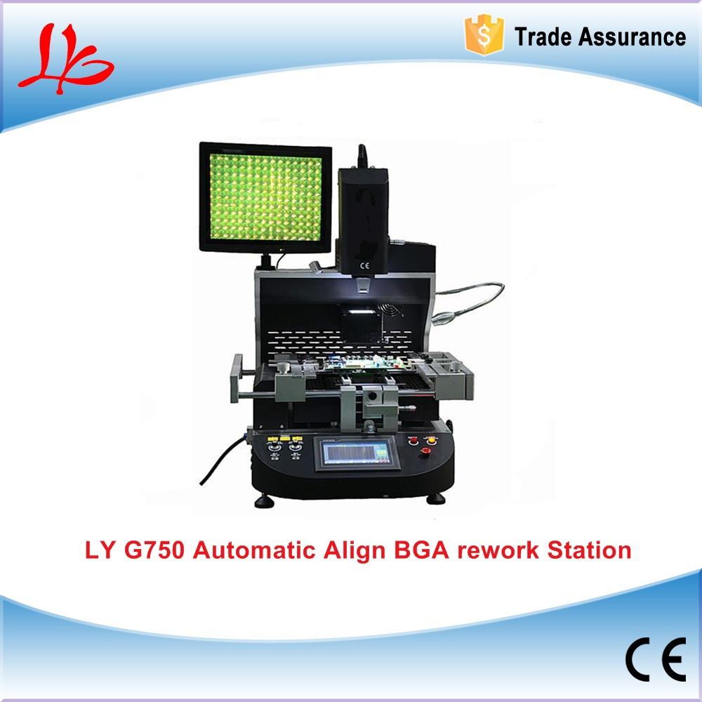 220V Automatic BGA Rework Station G750, align BGA reball station for laptops & Game consoles