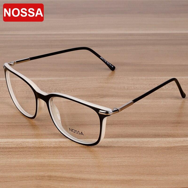 NOSSA Frauen & männer Elegante Acetat Brillen Studenten Optische ...