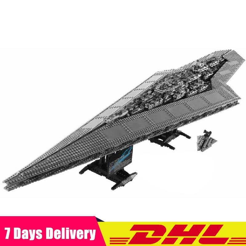 Compatible Legoinglys 10221 LEPIN 05028 3208 PCS Star War UCS Super Star Destroyer Model Building Blocks Toys Boy Gifts