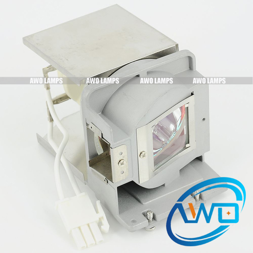AWO Cheap DS550 DS551 DX550 TS551 TX551 Replacement Projector Lamp with Housing for BL-FP180F awo compatibel projector lamp vt75lp with housing for nec projectors lt280 lt380 vt470 vt670 vt676 lt375 vt675