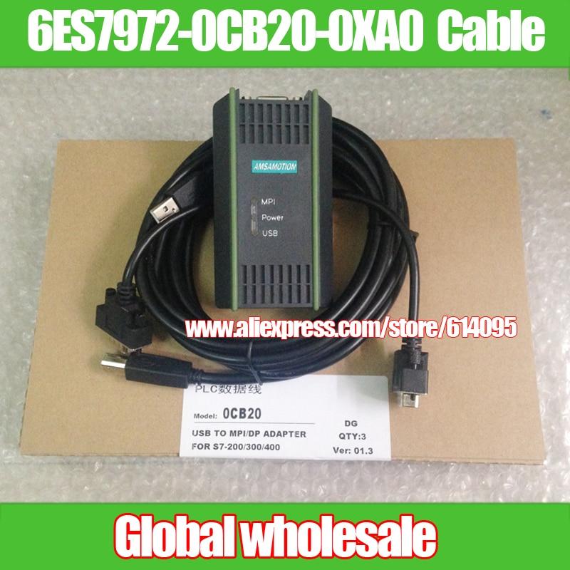 USB PPI MPI Programmierkabel Kabel für Siemens S7-200//300//400 PLC Adapter RS485