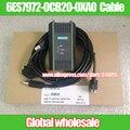 Cable de programación 1kit USB-MPI + S7-200/300/400 PLC DP/MPI utiliza para Siemens/programación 6ES7972-0CB20-0XA0 cable WIN7 WIN8