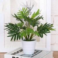 Grün Künstliche Pflanze Palmblättern Dekorative Künstliche Blumen Dekorative Fern Blätter Desktop Bonsai Hause Hochzeitsdekoration