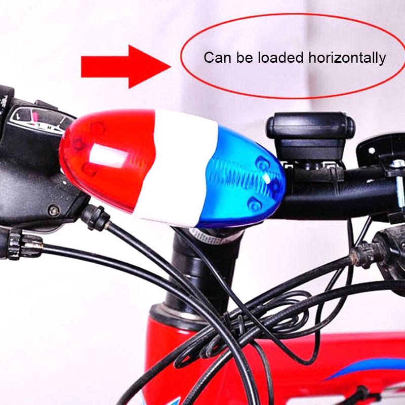 Waterproof Bike Bicycle Cycling Mini Rear Light Safety Warning Tail Police Lamp