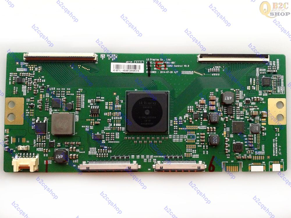 Board T-Con FOR LG PHILIPS 6870C-0546A LC550DQF-FHA1-8B1 V15 55UHD Logic 120HZ Original title=