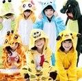Pokemon traje crianças traje de dinossauro do bebê tigre traje trajes crianças meninos animais pinguim pijama animal para meninos das meninas