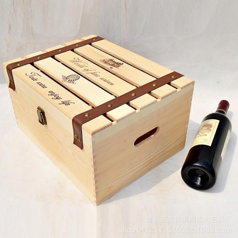 Aliexpress.com : Buy Manufacturers wholesale custom wood wine box ...