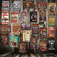 [ Mike86 ] Garage Man Cave Motor Hot Rod Metal Sign Home Store Decor Vinage wall decor shabby chic Poster Art 20*30 CM FG-500