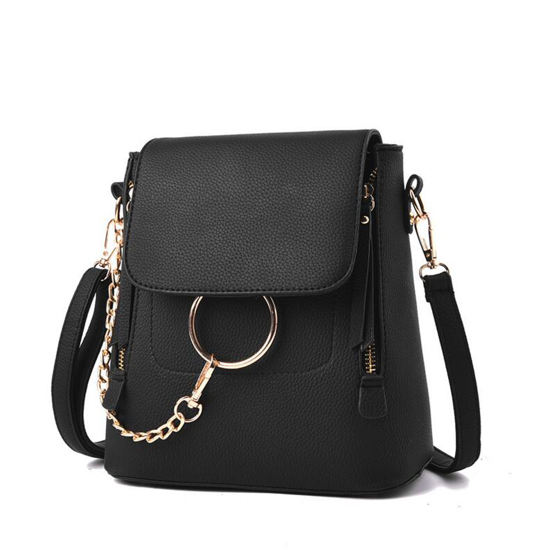 ФОТО 2017 Women Backpacks Fashion Shoulder Bags Ladies Small Bag Female Leather Travel Casual Backpack Cute Girls Pu Mochilas