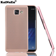 kainuen Original luxury pc Super Thin Unique Thermal Design phone etui,coque,cover,case for samsung galaxy a7 2017 a720 back