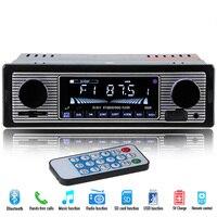 2018 Auto Parts Electronics Autoradio 1 DIN Radio Car Radio Player Bluetooth Stereo FM MP3 USB SD AUX Audio Player Display