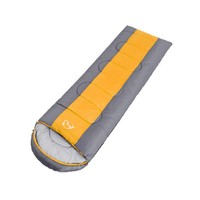 Single Sleeping Bag Adult Envelope Type Feet Zipper Thickened Adjustable Camping Office Accessories