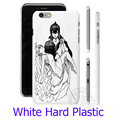 Японский Fairy Tail Логотип Белый Телефон Дело Чехол для iPhone 6 6 S 7 Плюс 5S 5 SE 5C 4 4S (мягкий ТПУ/Жесткий Пластик для выбора)