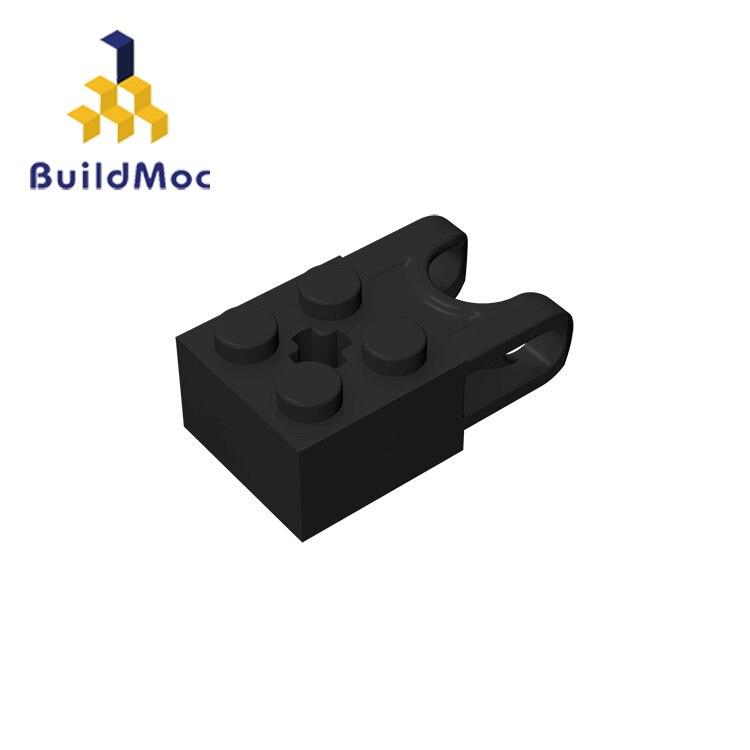 BuildMOC, совместимые сборы, частицы 92013, 2x2 для строительных блоков, DIY, образовательные высокотехнологичные запасные игрушки с логотипом