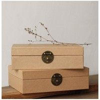 237 176 70 Mm Kraft Paper Gift Boxes Packaging Handmade Soap Food Packaging Jewelry Box Good