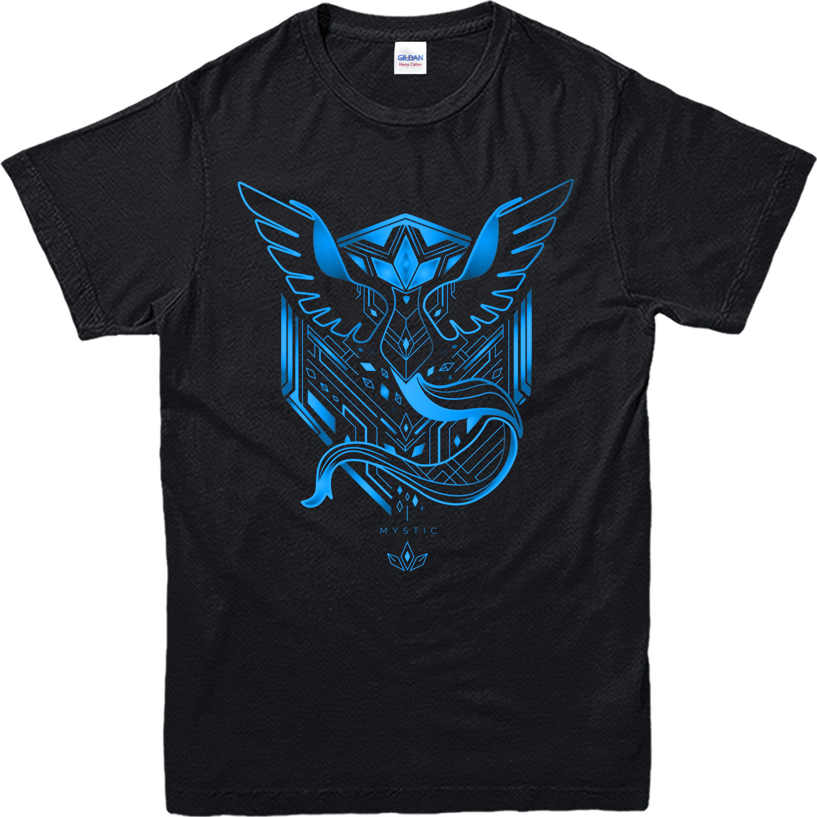 0e3dff1e Pokemon Go T-Shirt,Pokemon Team Mystic Pattern T-Shirt, Inspired Design