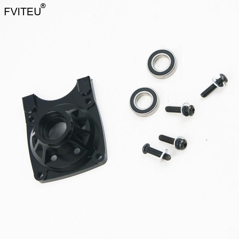 FVITEU CNC porte-cloche d'embrayage en aluminium pour moteur Losi 5ive T Rovan LT King x2