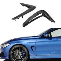 For BMW F32 F33 F36 Carbon fender light trim 4 Series Replacement Carbon Fiber Fender exterior Trim car accessories 2014 2016
