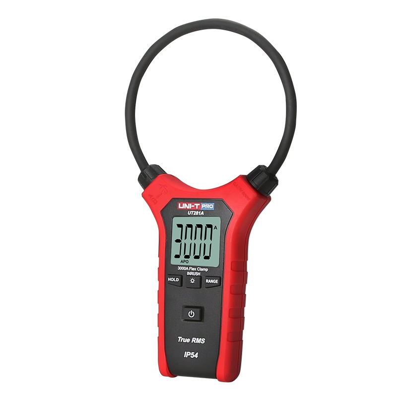 2018 UNI-T UT281A Smart AC Digital Flexible Clamp Meter Multimeter Handheld Voltage Current Resistance Frequency 0.01A-3000A uni t multimeter ut105 automotive multimeter ac dc voltage current resistance test meter handheld multimeter digital multimeter