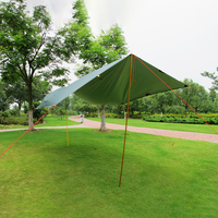 Adjustable Tent poles Awning Support Aluminum alloy Travel Outdoor Camping Hiking Tarp Shelter Useful