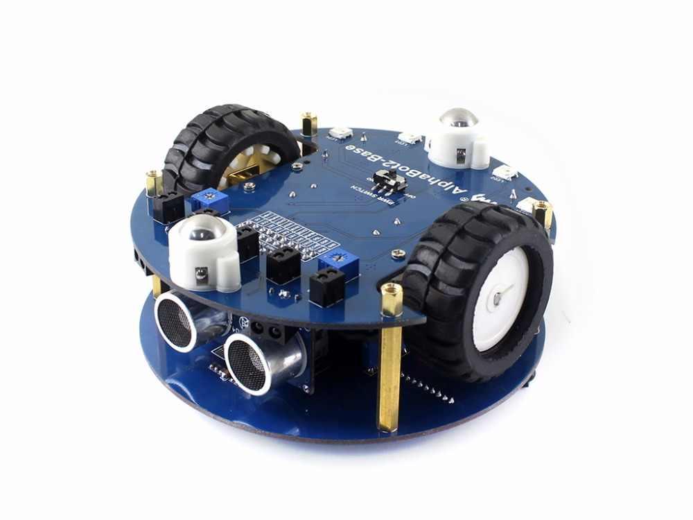 AlphaBot2 робот строительный комплект + Ультразвуковой датчик + ИК пульт дистанционного управления