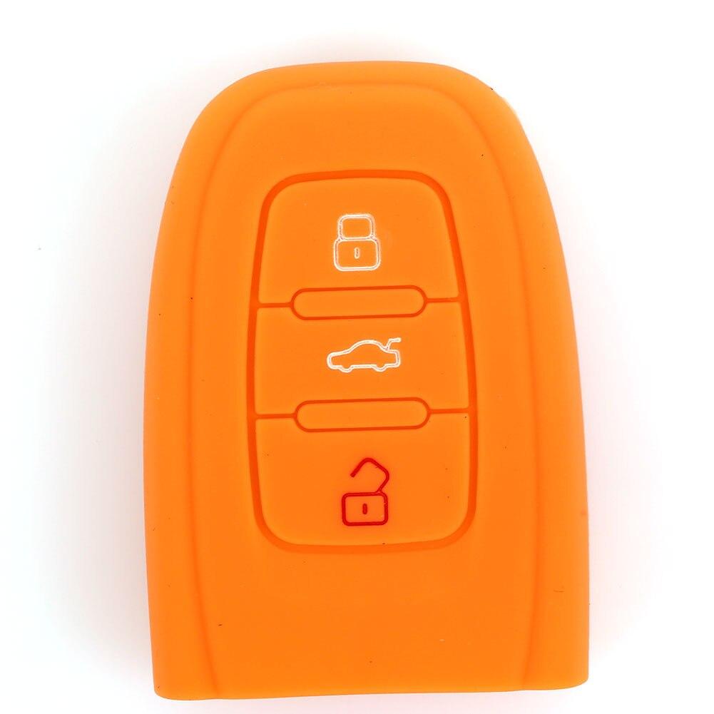 Vehemo зеркало заднего вида автомобиля чехол для пульта дистанционного управления защиты силиконовый чехол для ключей чехол Корпус для автомобильного ключа мягкий держатель для Audi A6L