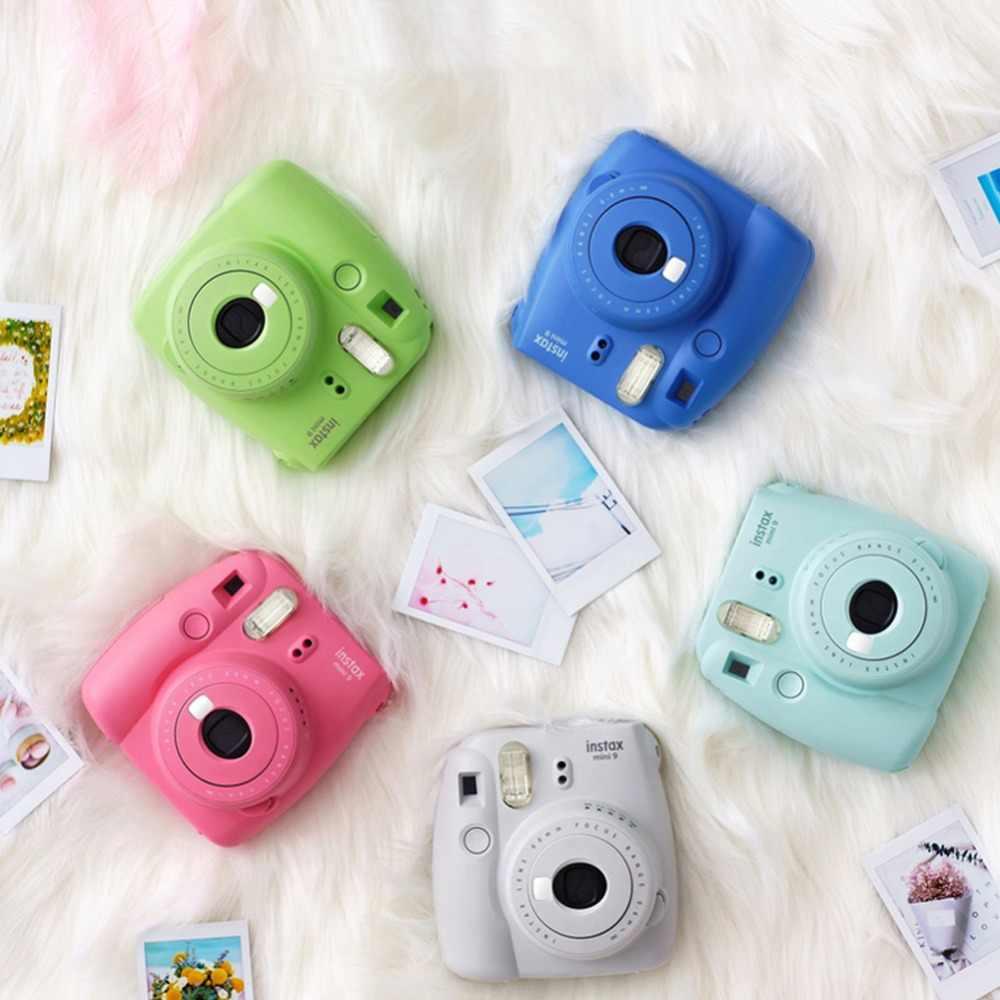 Fujifilm Instax Mini 9 film natychmiastowy kamera z lustrem Selfie Instax Mini dla Fuji Fujifilm Instax Mini 9 kamera tryb Hi-Key