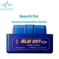 10 PCS Elm327 V1.5 OBD2 Bluetooth Autoscanner For Car Elm 327 2.1 ODB Scanner diagnostic Auto Adapter Car Scanner For Russia