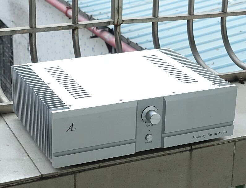 BZ4312A Silver All Aluminum <font><b>120mm</b></font> Height Amplifier Case DIY Power Amp Chassis Preamplifier Box Shell 430MM*<font><b>120MM</b></font>*310MM image
