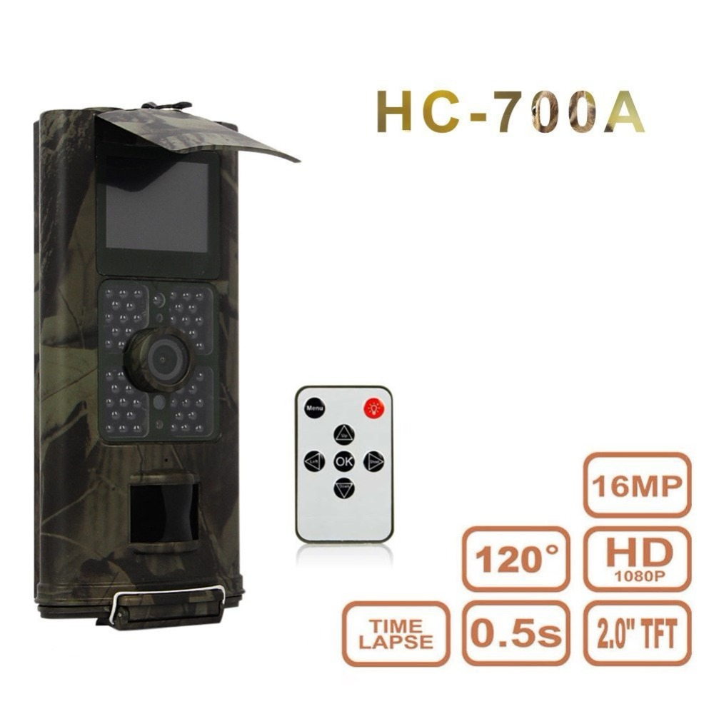 16MP Animal Wildlife scout guard hunting trail camera HC700G Digital Infrared Wild scouting for photo traps hunting camera HC700 (14)