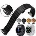Samsung galaxy gear s2 inteligente de alta calidad correa de reloj de 20mm correa de reloj de acero inoxidable reloj accesorios