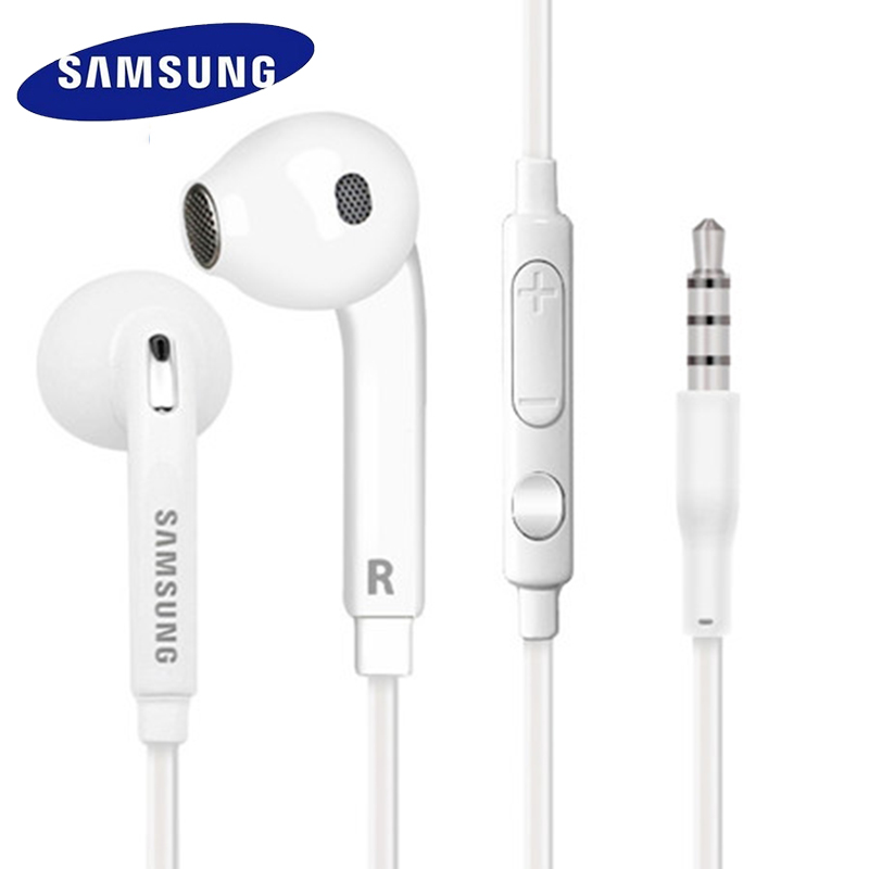 SAMSUNG Earphones Headsets Wired with Microphone for Samsung Galaxy S6 S6 edge S8 Earphone for Mobile Phone In-ear Earphones dialog ad 07