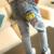 Alta qualidade 2016 Nova Bebê meninas Moda Jeans Crianças lavar graffit pant solto bonito do bebê Calças bottoms Calças De Brim Projetadas