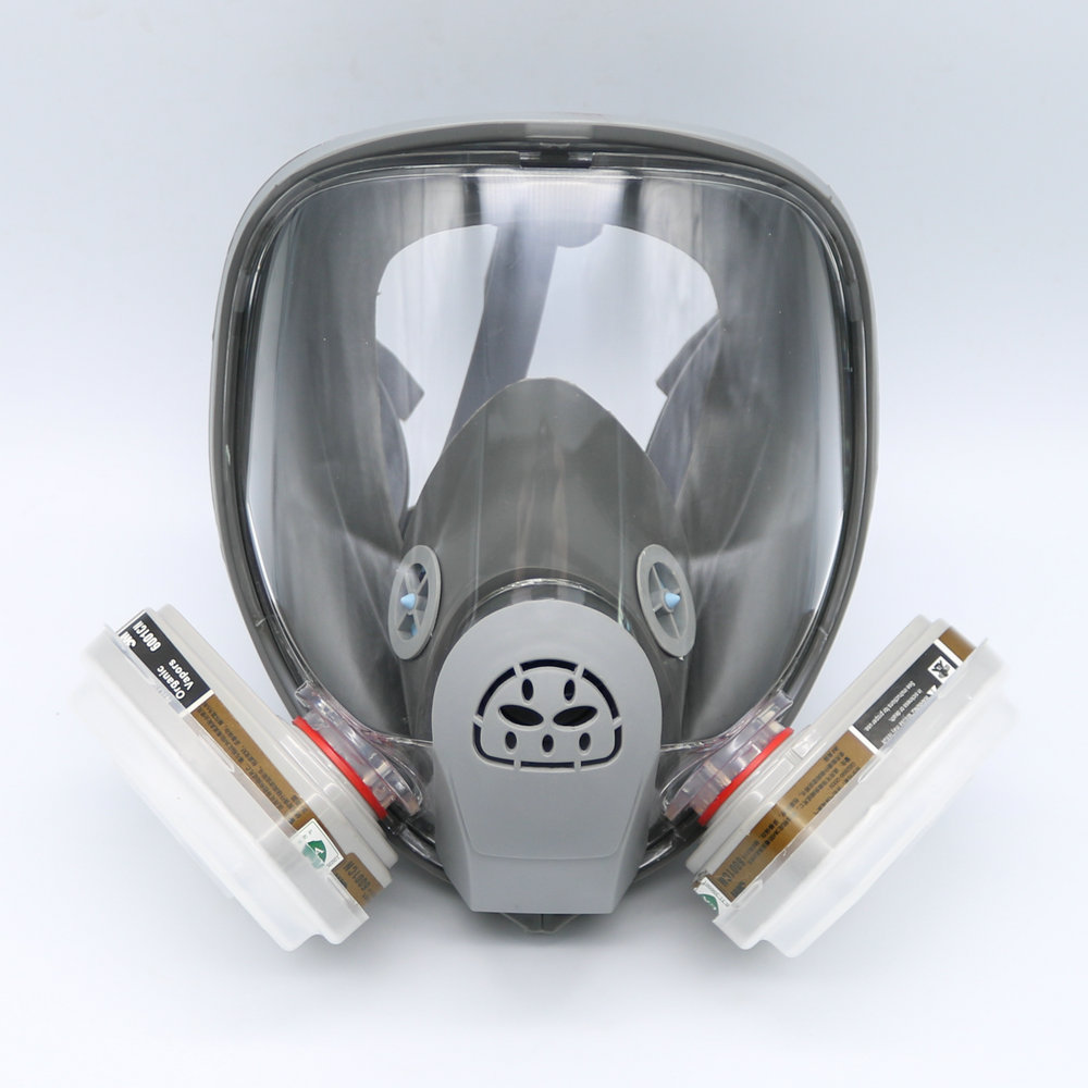Festive & Party Supplies For 6800 Gas Mask Full Face Facepiece Respirator 7pcs Kit Painting Spraying Mask Grey Cleaning The Oral Cavity.