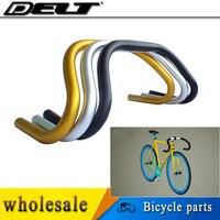 5 видов цветов fixed gear шоссейные велосипеды Велосипеды Велосипедный Спорт падения Бар Руль 25.4x22.2 420 мм Ручка Бент бары оптовая