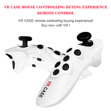 Newest Portable Mini VR 3D Glasses Bluetooth Mouse Remote Control Shopping Gamepad VR CASE gamepad GAMEPAD