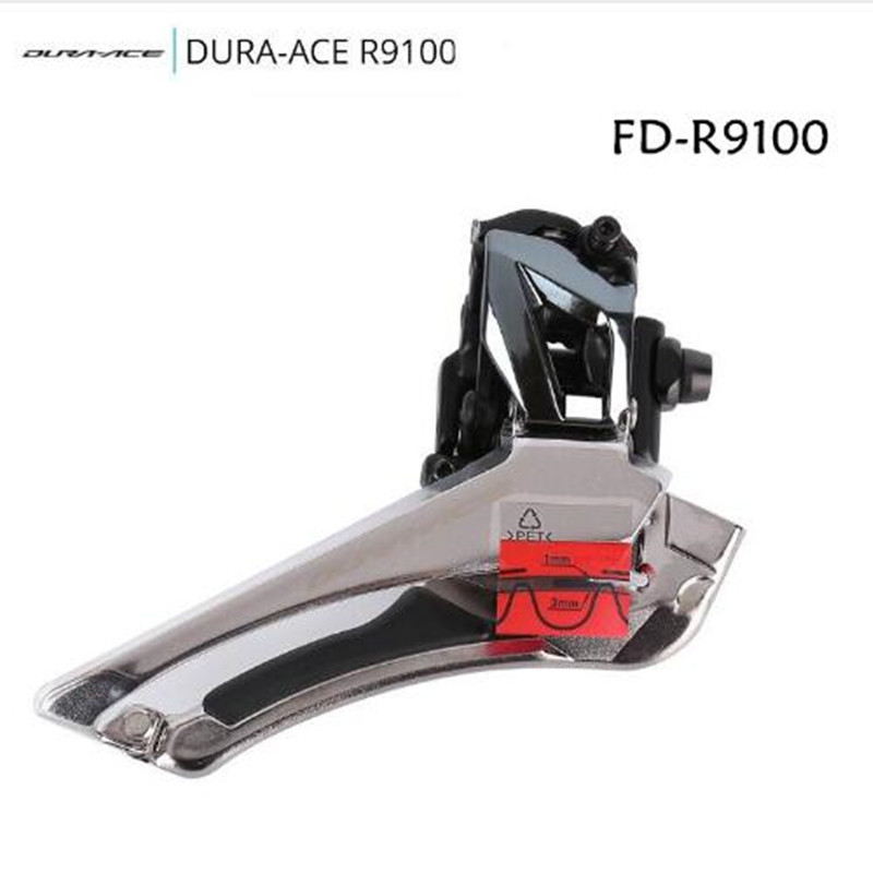 Shimano Dura-Ace FD-R9100 11-Speed Front Derailleur braze on clamp 31.8 34.9 nos shimano xtr front derailleur fd m961 dual pull bottom swing 34 9 new in box