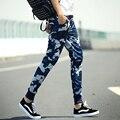 Camuflaje ocasional de los hombres pantalones de la aptitud de hip hop nueva ropa pantalones de carga de trabajo pantalones militares pantalones de chándal de los hombres chándal outwear