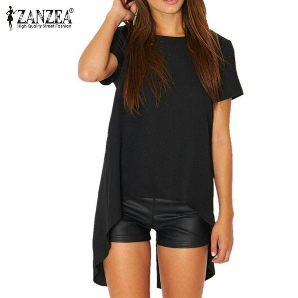 most buy zanzea new summer blusas women blouse chiffon