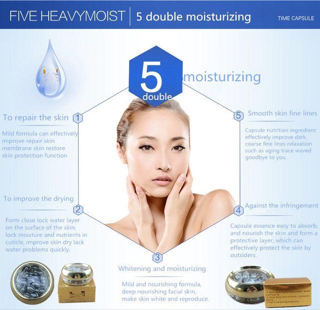 QLZHANFU silver time capsule whitening and moisturizing hydrating nourish  facial essence best face whitening Face Serum