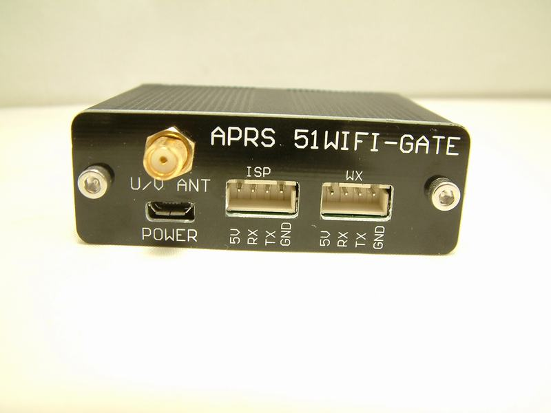 APRS 51WIFI Mobile Gateway Relays Weather, Can Be Used as FT400DR Mobile GatewayAPRS 51WIFI Mobile Gateway Relays Weather, Can Be Used as FT400DR Mobile Gateway