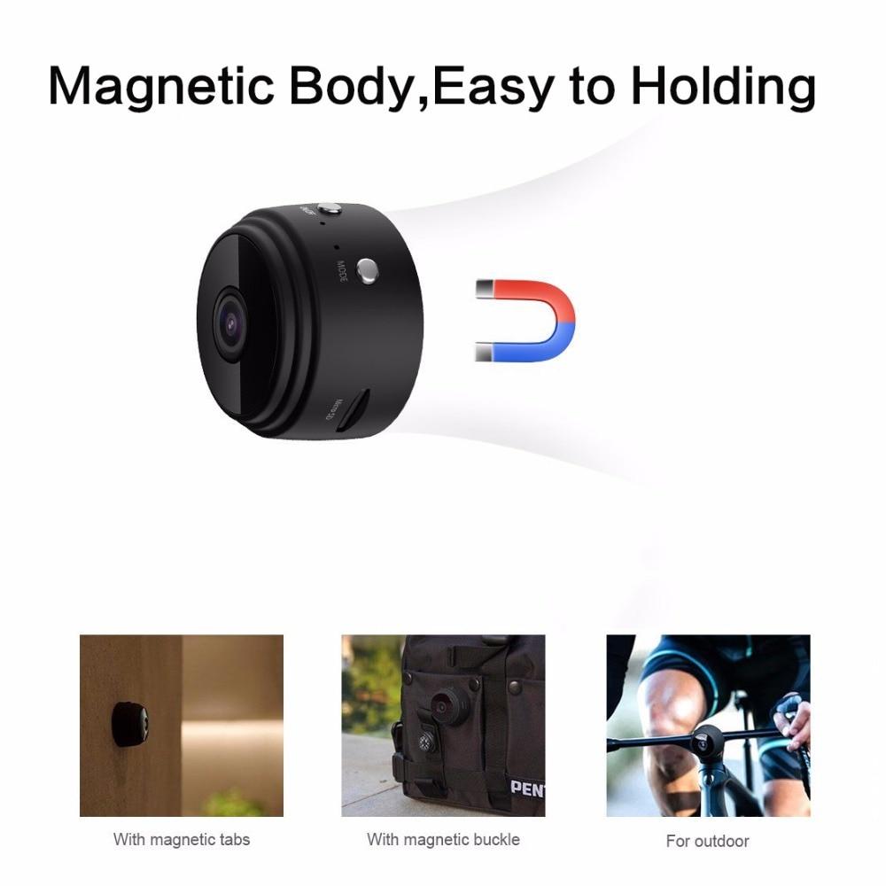 Spy Camera – Mini Magnetic IP Camera 1080P with IR Night Vision & Motion Detection 3
