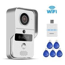 REDEAGLE 720P Wireless WiFi Video Doorbell Door Phone Intercom Camera PIR Motion Detection font b Alarm