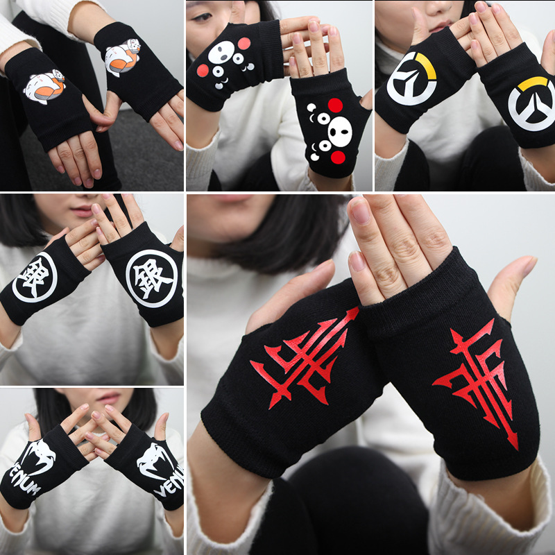 Official Website Sword Art Online Plush Stuff Accessories Dolls Winter Anime Toys Soft Cartoon Stuffed Doll Fingerless Gloves Unisex Gifts Aromatic Character And Agreeable Taste Stuffed Animals & Plush