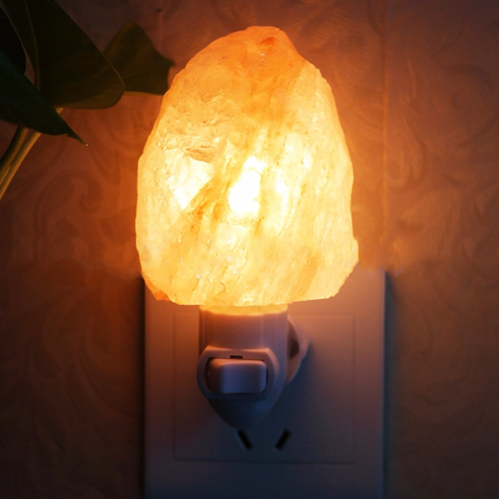 Akdsteel Bingirl Eu Plug Salt Lamp Mini Natural Himalayan