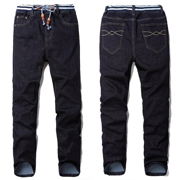 Black XXXL 6XL 8XL Winter Jeans Hip Hop Men Denim Brand Denim Trousers Soft Men Pants Fashion Large Big Size Plus 6xl 7xl 8xl